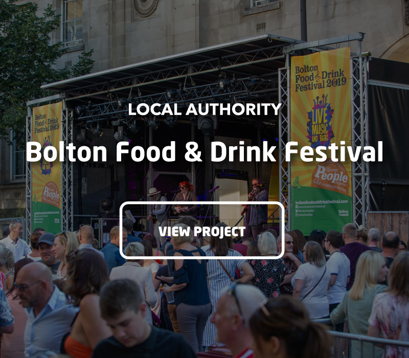 Bolton Food & Drink Festival Project Image