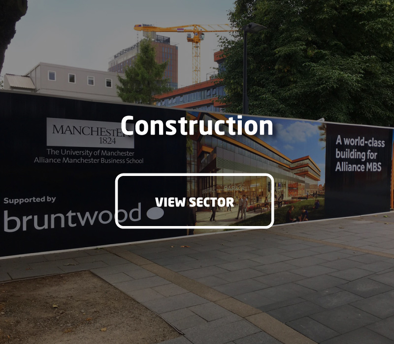Hoardings, Visual Branding & Signage for Construction | Impression Ltd, Bolton