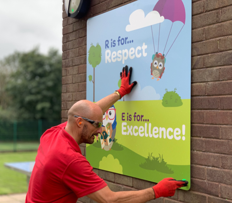 On-site Installation for Primary Schools
