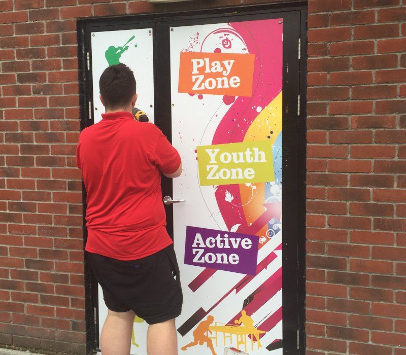 Printed Doors for Local Authorities